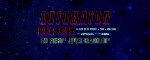 Automaton + Oscar Favre en Mcnamara